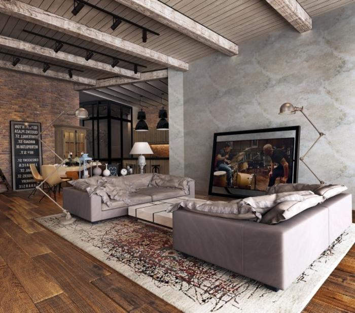 wohnzimmer ideen landhausstil | möbelideen