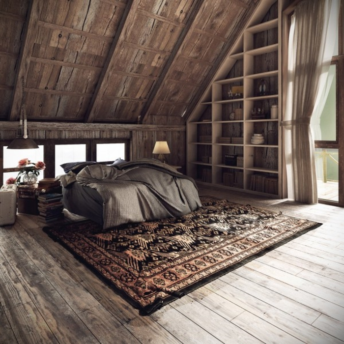 wohnen im landhausstil schlafzimmer möbel bett einrichtungstipps
