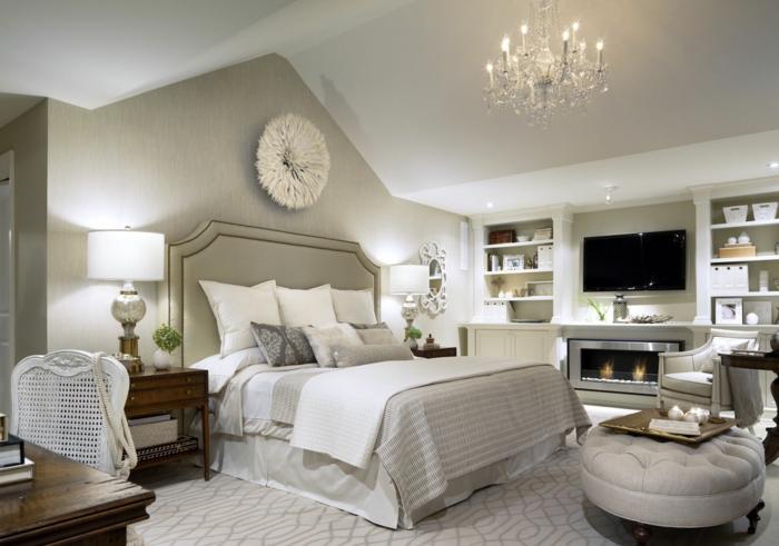 Lieblich Wohnung Einrichten Ideen Schlafzimmer Einrichten Kamin