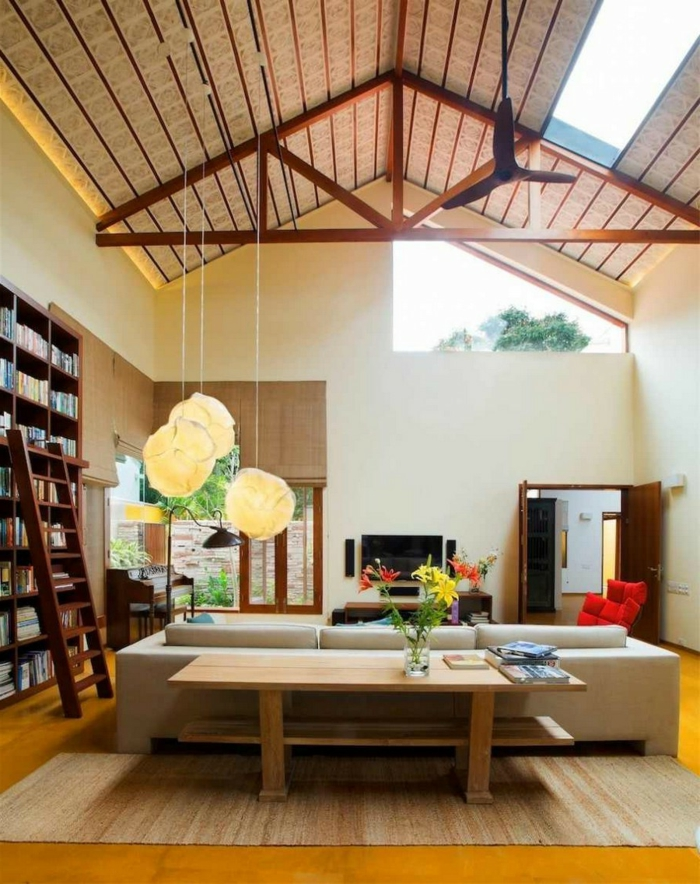 coole wohnzimmer beleuchtung raum und m beldesign. Black Bedroom Furniture Sets. Home Design Ideas