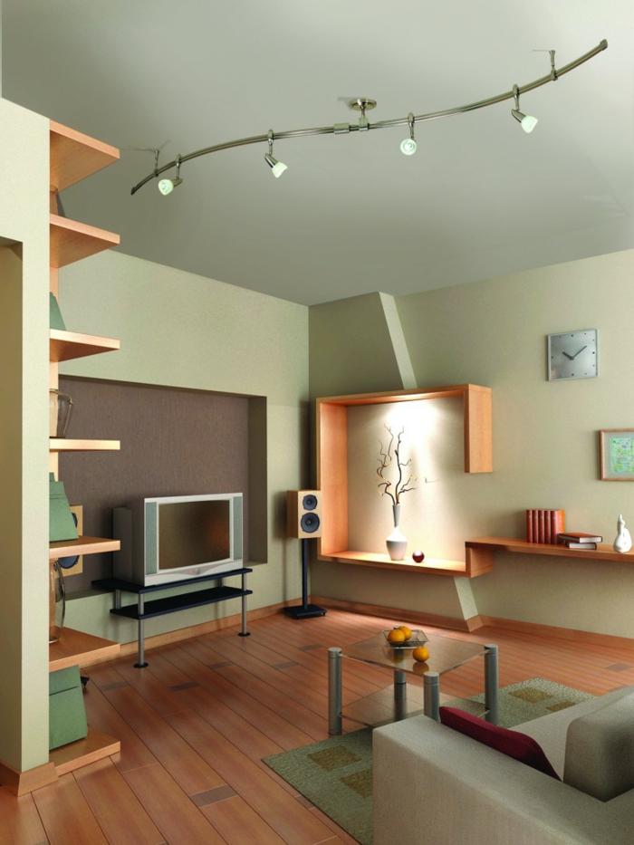 deckenbeleuchtung wohnzimmer sollten es decken einbau. Black Bedroom Furniture Sets. Home Design Ideas