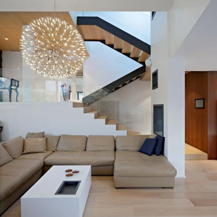 Wohnzimmerbeleuchtung oder wie man eine zimmergestaltung for Wohnzimmer pendelleuchte