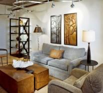 Wohnzimmerbeleuchtung oder wie man eine Zimmergestaltung zum Verlieben schafft