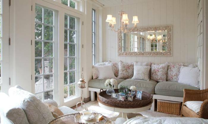 Zimmer Einrichten Ideen Wohnzimmer Provence Stil Fische Sternzeichen
