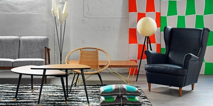 50er jahre möbel ikea design moderne interpretation