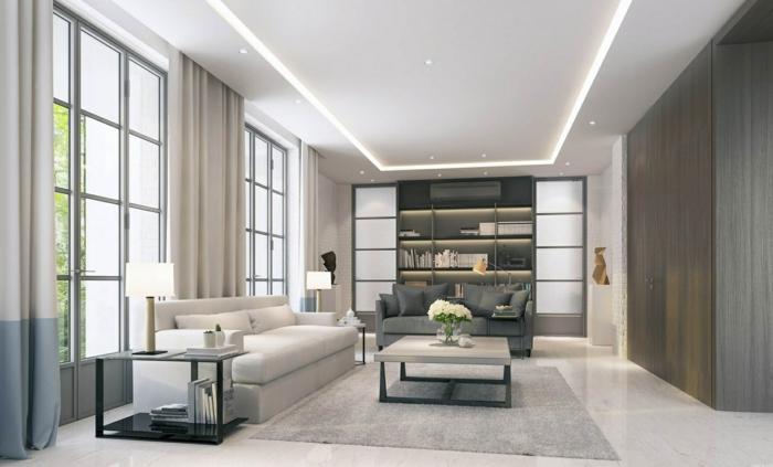 Abgehngte Decke Beleuchtung Ein Trend In Der Deckenmontage