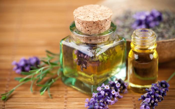 Naturreine ätherische Öle Aromaöle lavendel glas