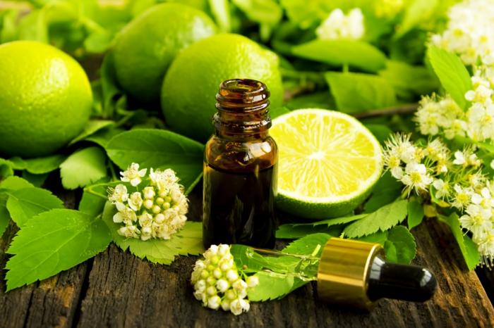 Naturreine ätherische Öle Aromaöle linde limette