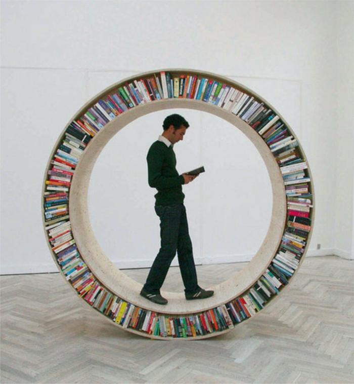 Bücherregale kreis