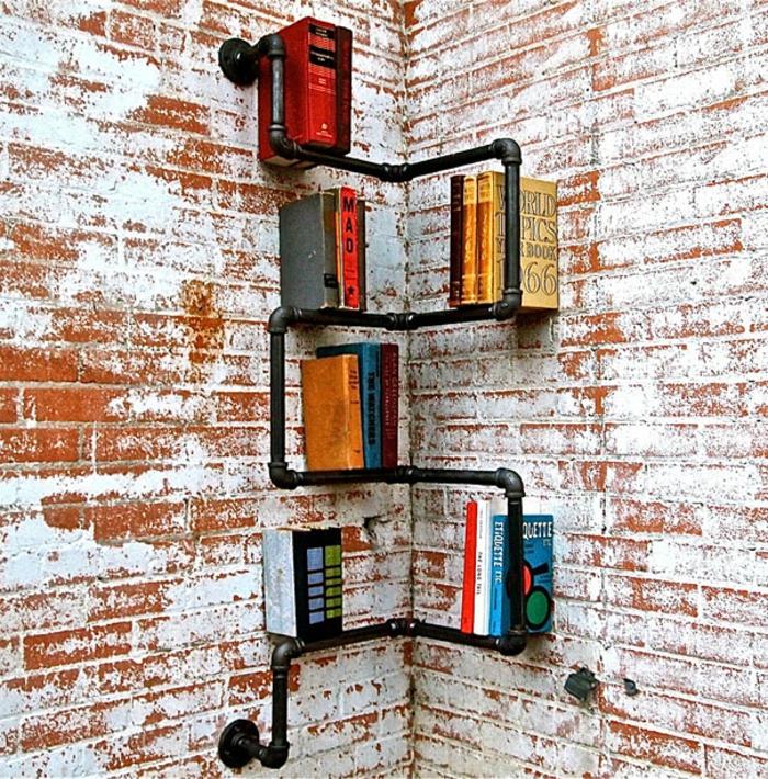 Bücherregale schnecke industrial