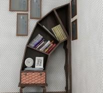 Bücherregale, die das Lesen attraktiver machen