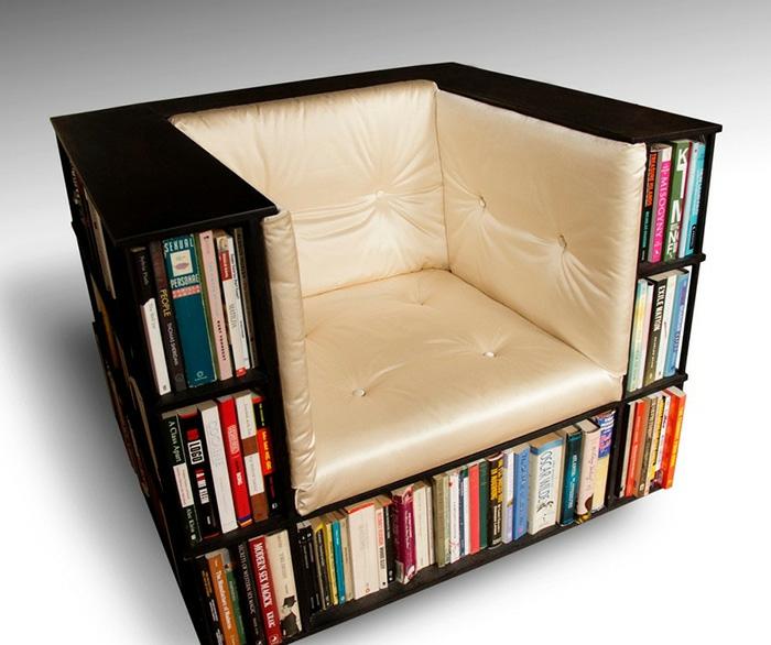 Bücherregale schnecke sessel