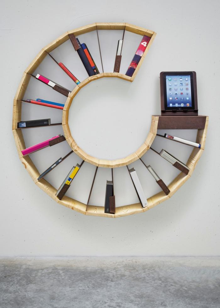 Bücherregale schnecke