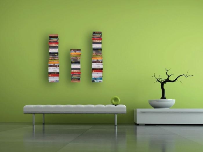 Bücherregale unsichtbar