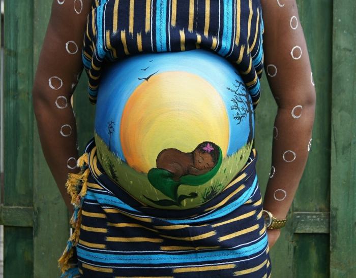 Babybauch Bemalen Ein Beliebter Trend In Den Letzten