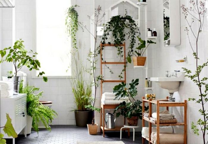 Badezimmerideen pflanzen