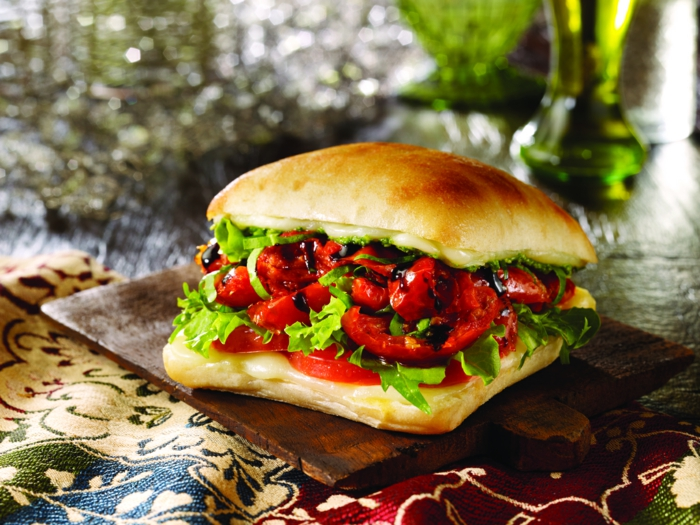 Ciabatta Brot sandwich