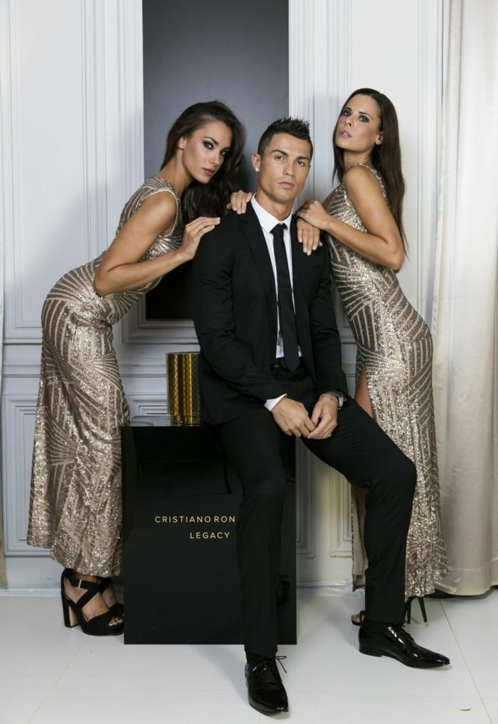 Cristiano Ronaldo parfum debüt duft legancy