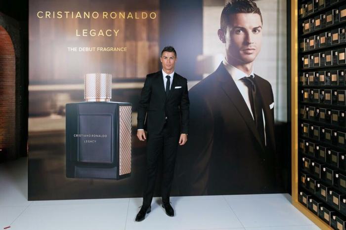 Cristiano Ronaldo parfum legancy wird präsentiert