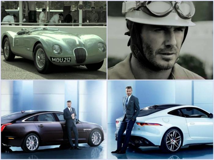 David Beckham werbung jaguar werbegesicht in china werbespot derehen