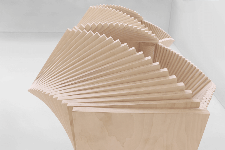 """Designer Sideboard """"Wave Cabinet"""" vom Designer Sebastian Errazuriz"""
