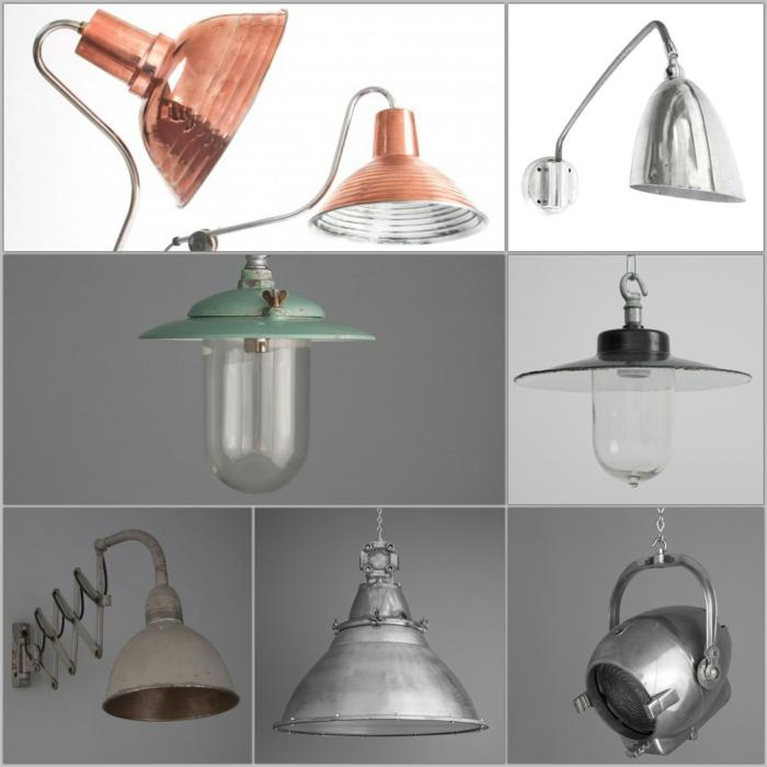 Designleuchten Skinflint Design industral style möbel leuchten und lampen