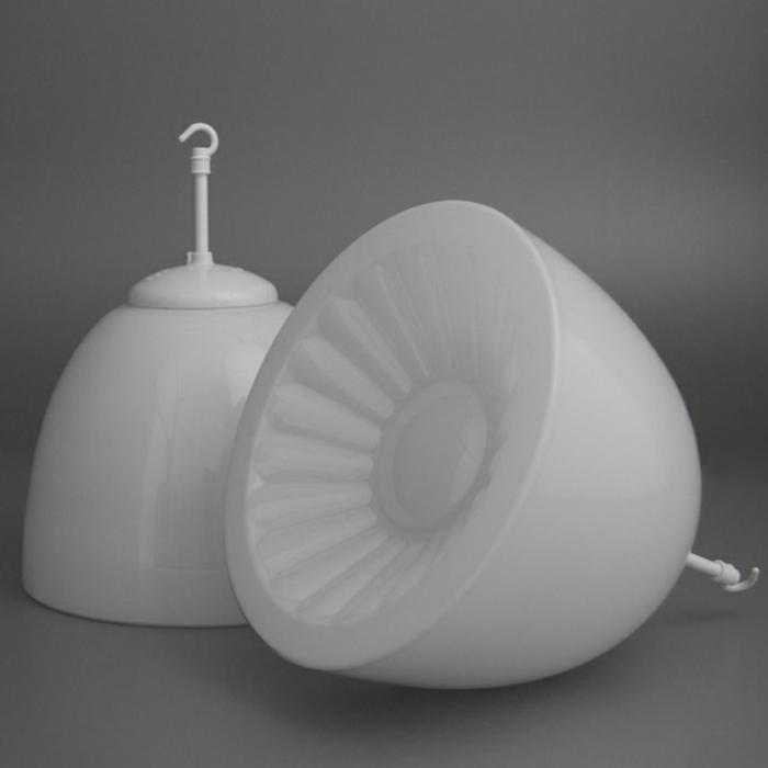 Designleuchten Skinflint Design weiße lampenschirme
