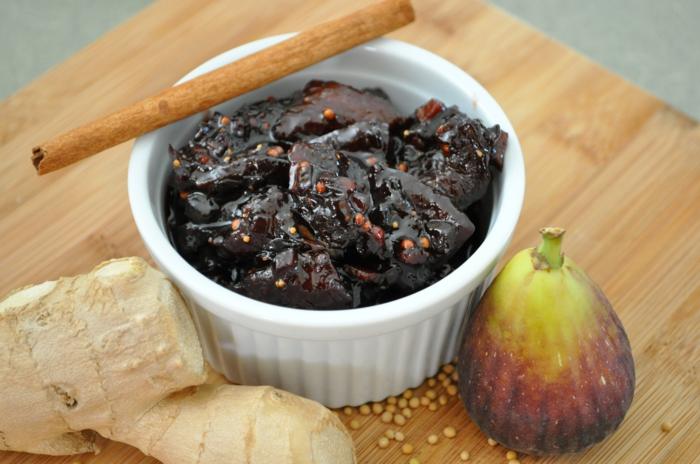 Feigen- Chutney-glaeser-zutaten-neu feigen rezepte