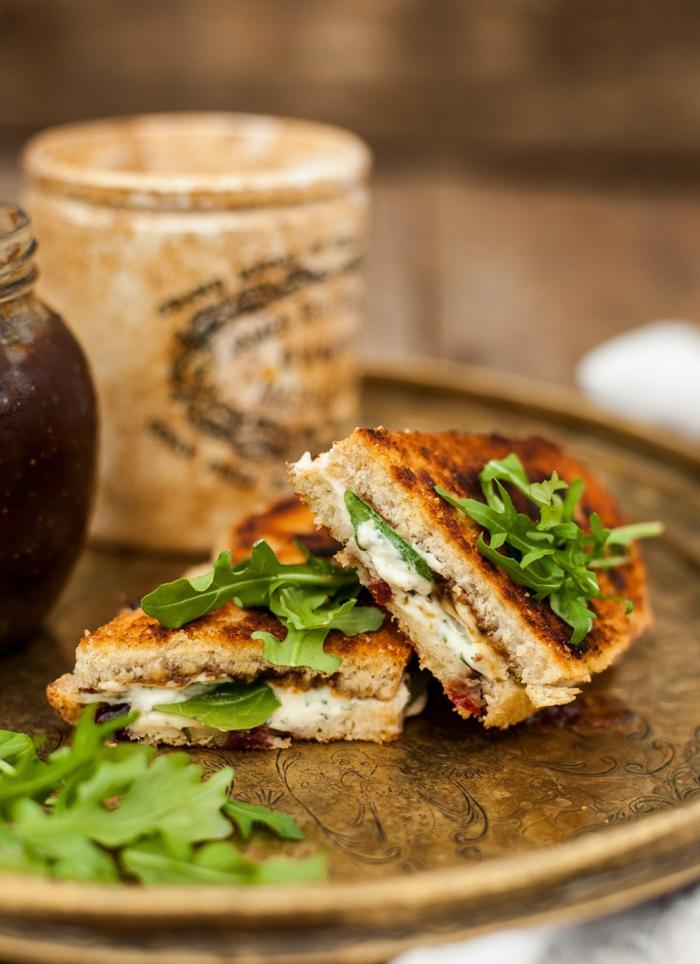 Feigen Chutney sandwich
