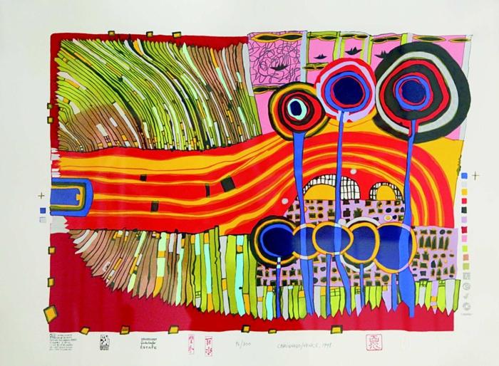 Friedensreich Hundertwasser - ein außergewöhnlicher Künstler
