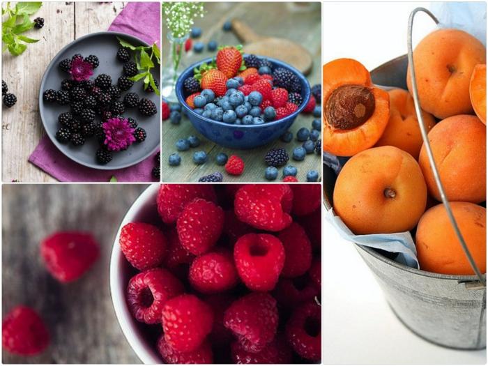Gesunde Ernährung für Kinder frisches obst