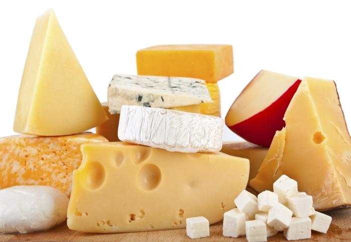 Gesunde Ernährung für Kinder milchprodukte käse