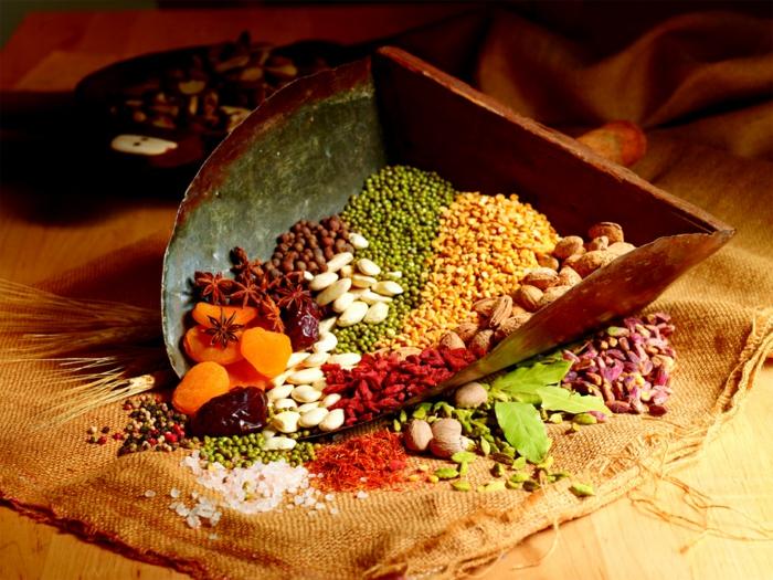 Gesunde Ernährung für Kinder orientalischer beigeschmack gewürze