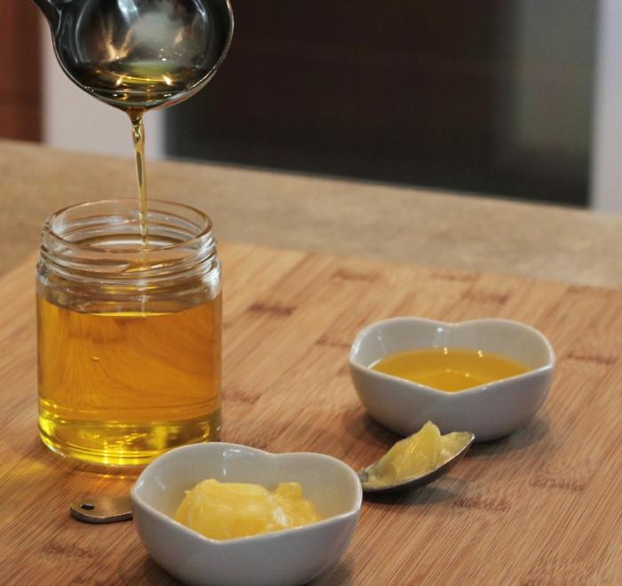 ayurveda rezepte Ghee selber machen butter gold
