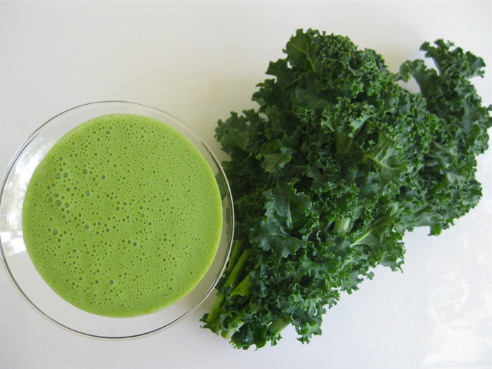 Grünkohl smoothy smoothy
