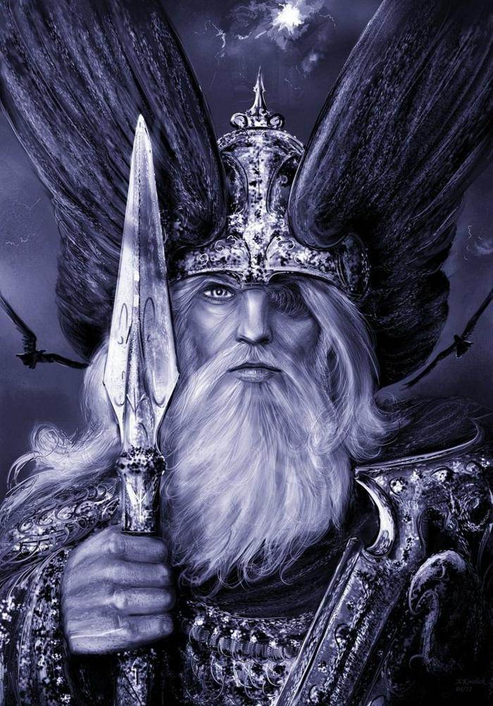 Heidnische Götter und das Erntedankfest Wotan