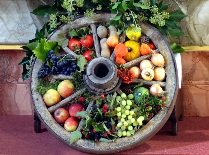 Heidnische Götter und das Erntedankfest kohlrabi