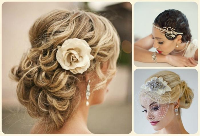 Top 20 Wedding Hairstyles For Medium Hair: Hochzeitsfrisuren- Die Herausforderung Braut Zu Sein