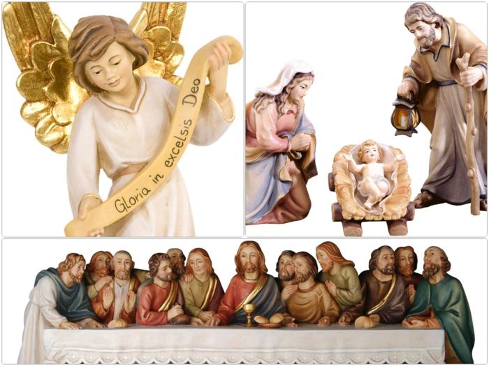 Holzschnitzkunst aus Gröden Krippenfiguren und Holzfiguren Holzschnitzereien
