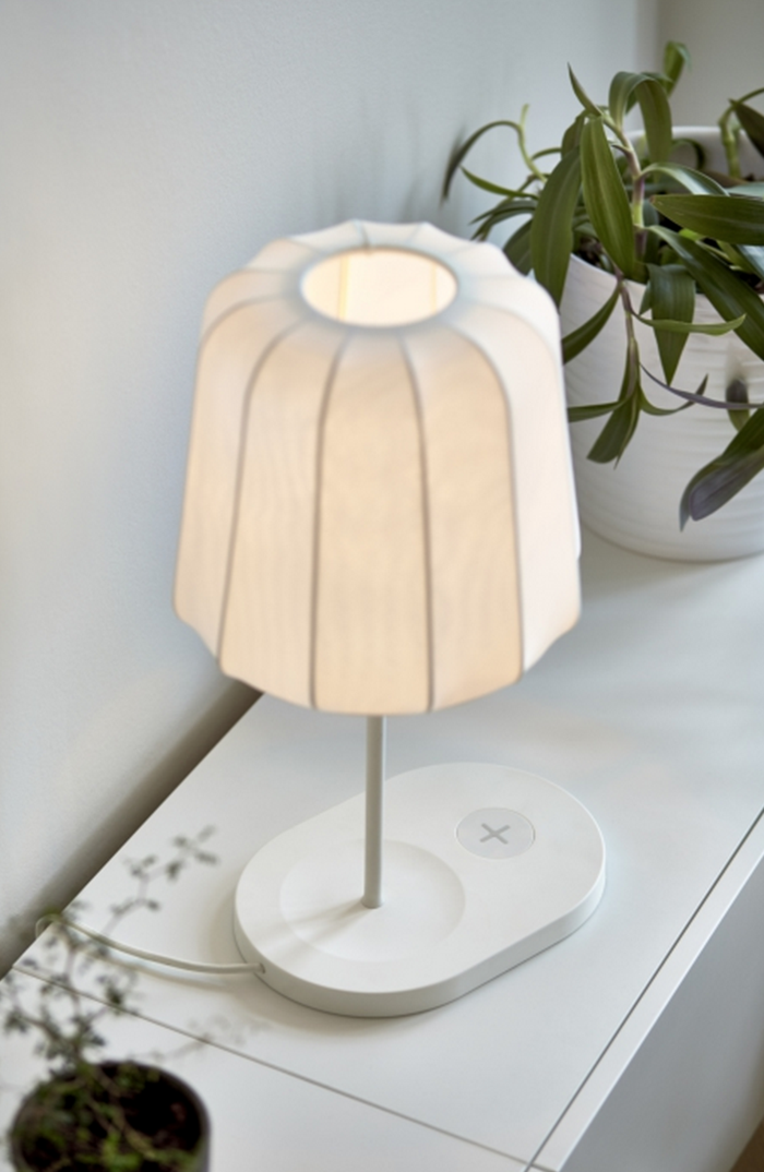 IKEA Qi wireless ladegerät ikea möbel der zukunft