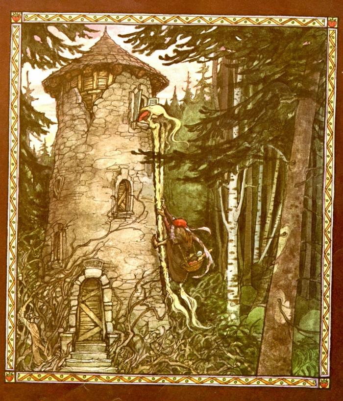 Kinderbuch rapunzel