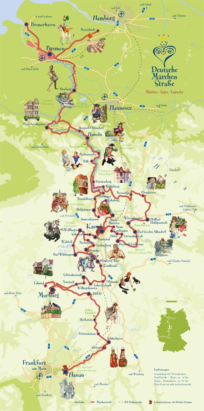 Kinderbuch-schneewittchen-karte