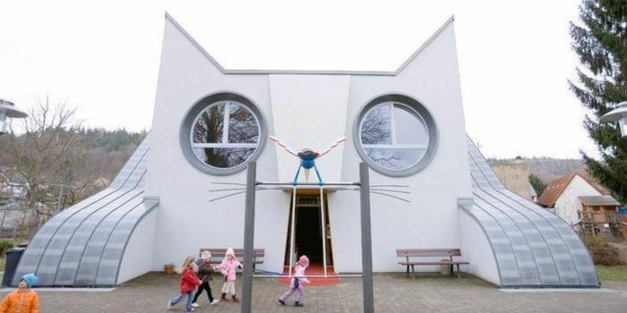 kindergarten heute die katze in wolfartsweier bei karlsruhe. Black Bedroom Furniture Sets. Home Design Ideas
