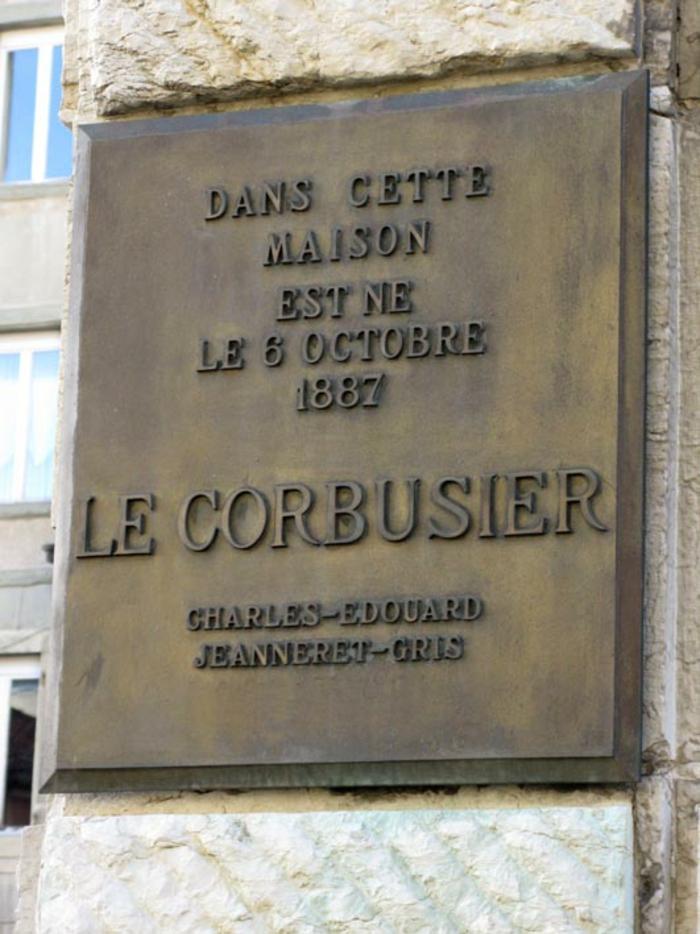 Le Corbusier geburtshaus