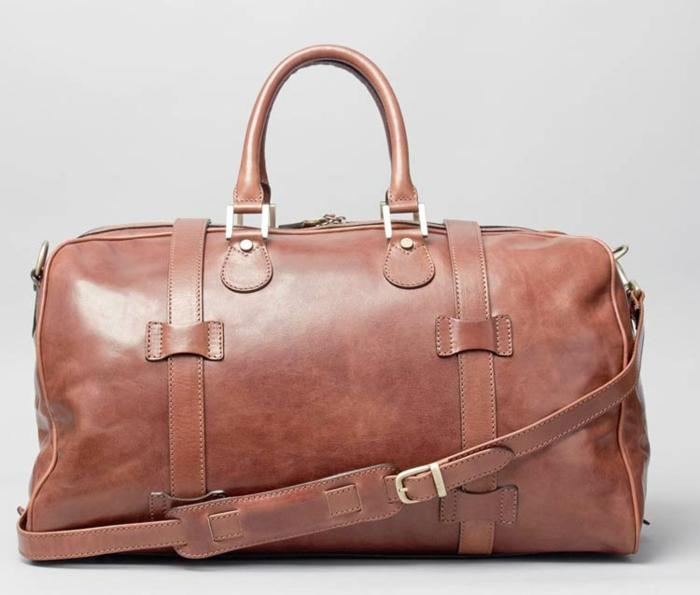 Ledertasche Flero M reisetasche Maxwell Scott