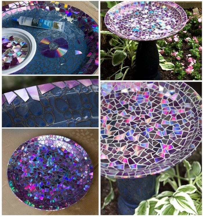 Mosaik selber machen gartenwege cds Mosaiksteine