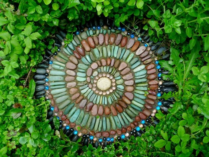 Mosaik selber machen schritte mosaiksteine