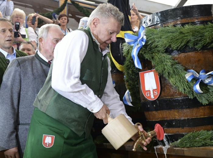 Oktoberfest München bürgermeister sticht