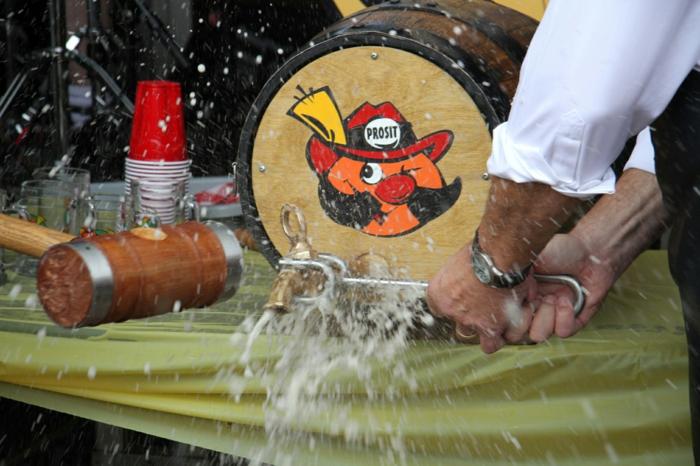 Oktoberfest München bier anstich
