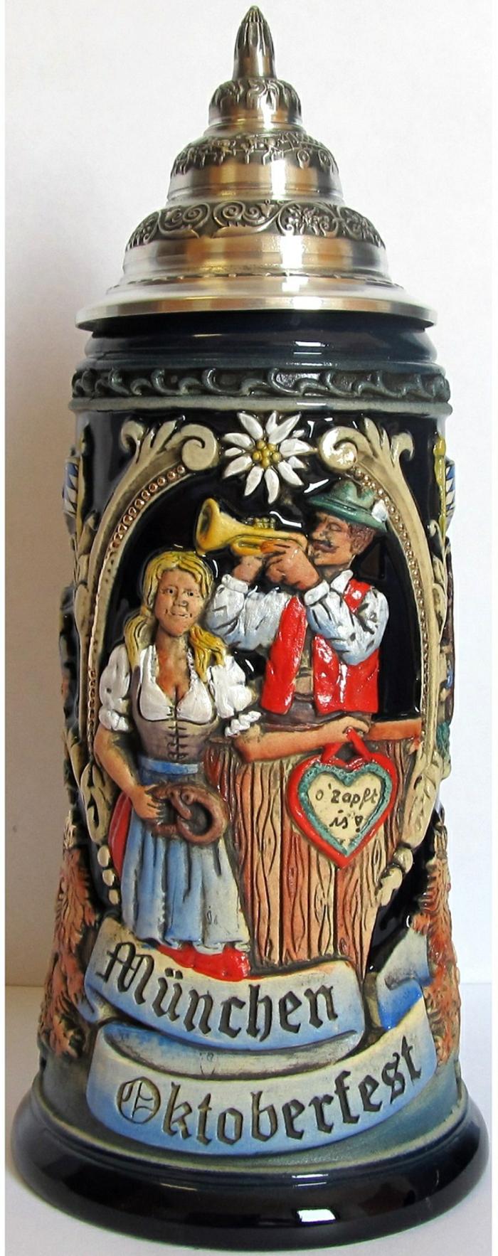 Oktoberfest München bierseidel